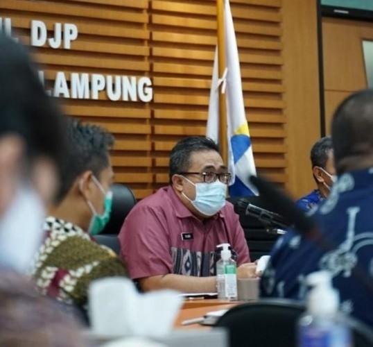 Realisasi Penerimaan Pajak Lampung Capai Rp4,4 Triliun