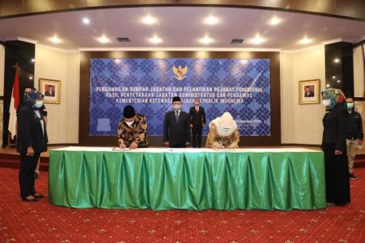 Reformasi Birokrasi, 449 Pejabat Eselon 3 dan 4 Kemnaker Jadi Fungsional