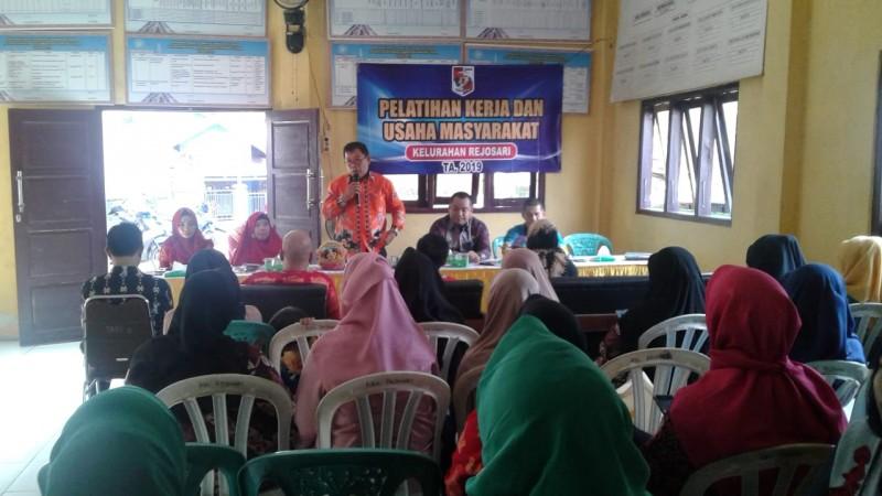 Rejosari Gelar Pelatihan Pengrajin Kuliner Berbasis Pangan Lokal