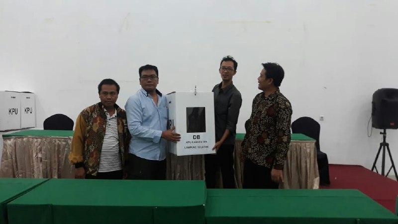 Rekapitulasi KPU, Jokowi-Ma'ruf Unggul di Lamsel