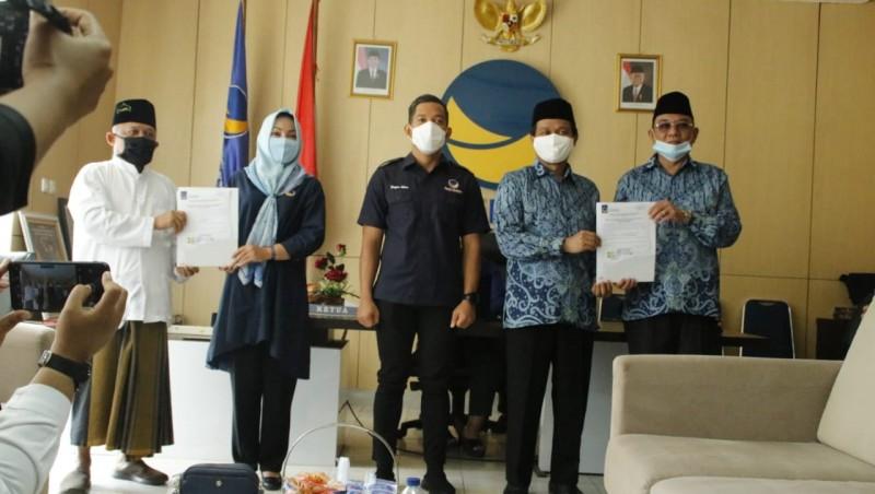Rekomendasi Turun, Saleh Chandra Pede Menangi Pilkada Metro