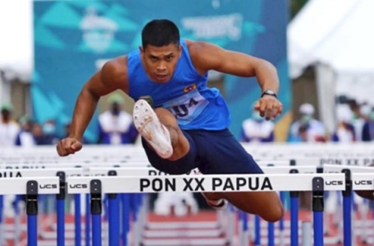 Rekor Nasional Lari Gawang 110 Meter Pecah di PON Papua
