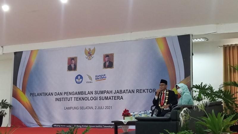 Rektor Baru Itera Siap Berkontribusi Bagi Lampung dan Sumatera