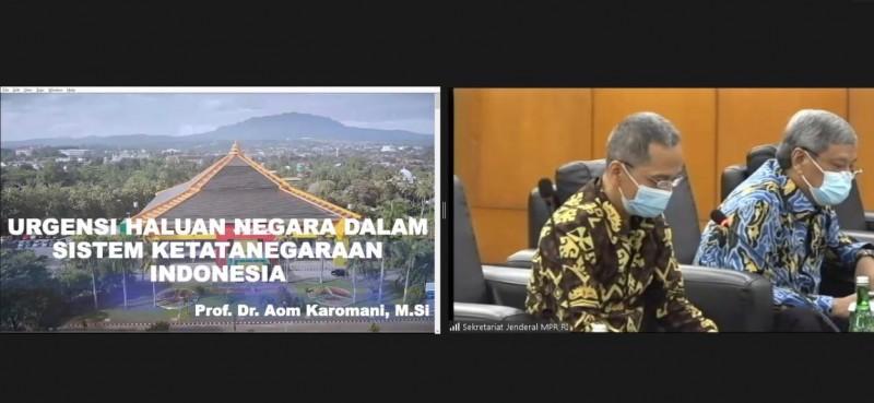 Rektor Unila Bahas Haluan Negara di Forum MPR