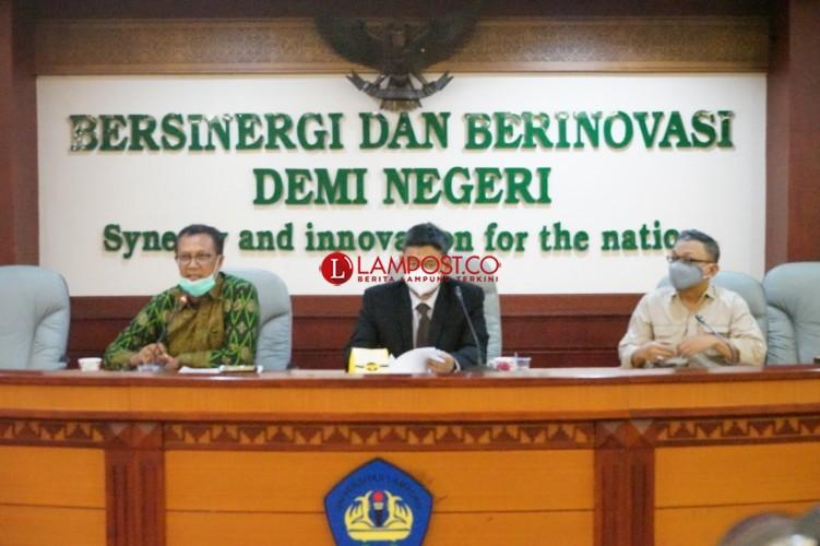 Rektor Unila Kena Korona, Kampus Terapkan 75 Persen WFH