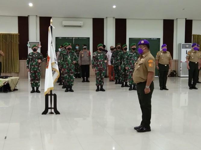 Rektor Usakti Kukuhkan Ketua Ikatan Alumni Resimen Mahasiswa Trisakti