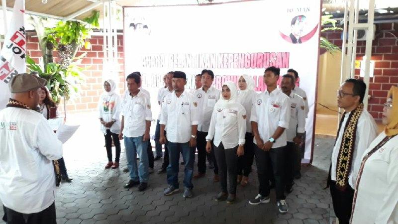 Relawan Jokowi Mania Lampung Pelopori Gerakan 70% Pemenangan Jokowi-Amin