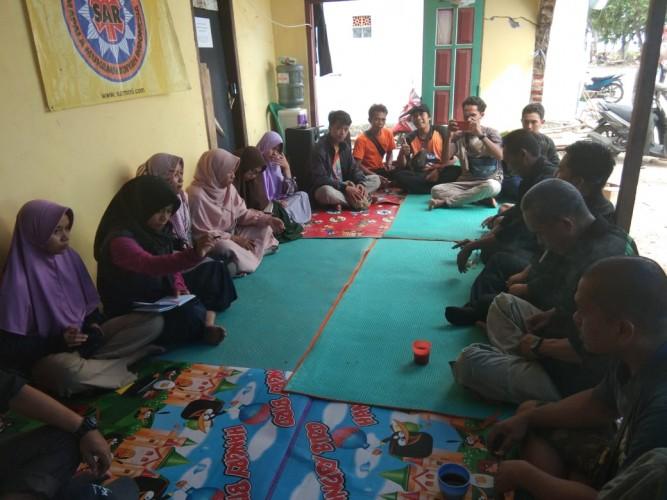 Sukarelawan KAUMY dan SARMMI Akhiri Aksi Bantuan Kemanusiaan di Pesisir Rajabasa
