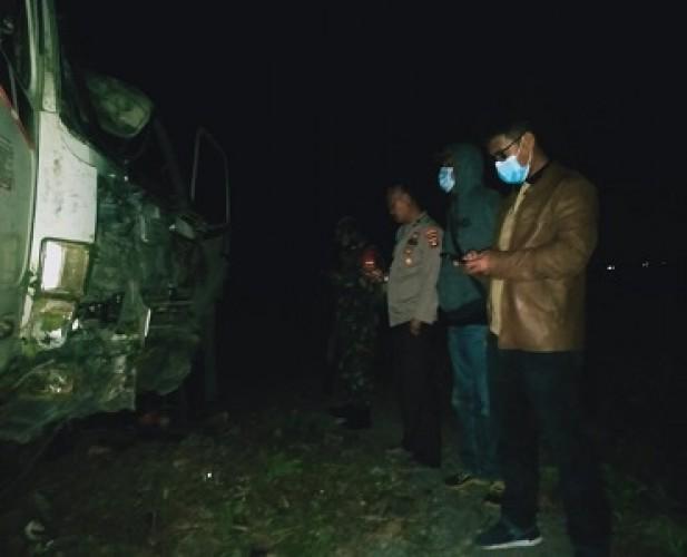 Rem Blong, Truk Hantam Rumah di Way Lunik