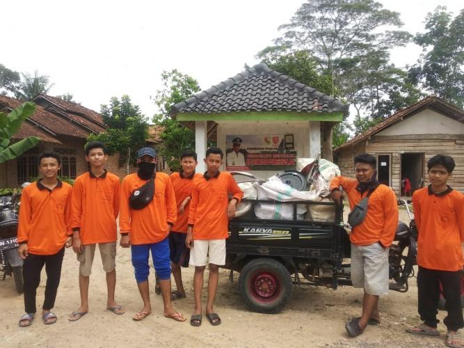 Remaja Masjid Baiturrahman Miliki Bank Sedekah Sampah Pertama di Tubaba
