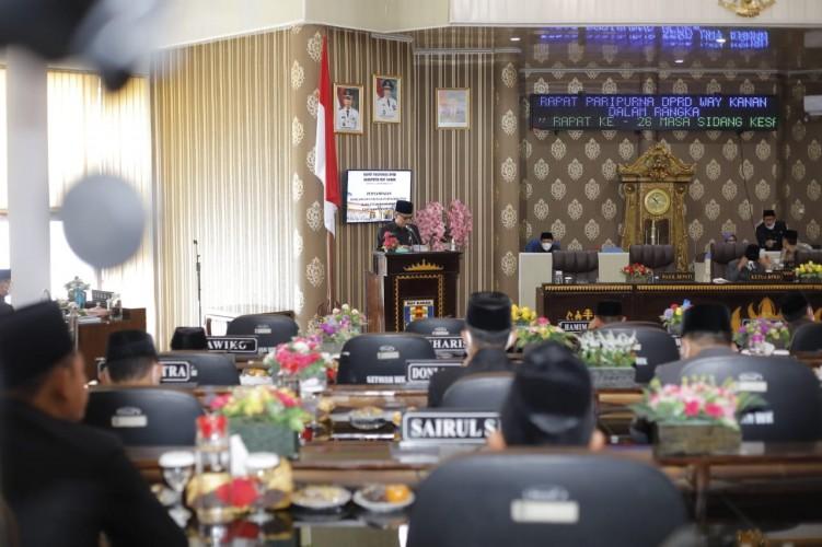 Rencana Pendapatan Pemkab Way Kanan Naik Rp12 Miliar