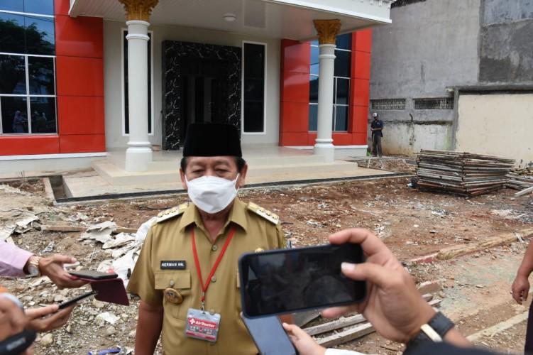 Renovasi Kantor Kecamatan yang Terhambat Pandemi Diperkirakan Rampung Akhir Januari