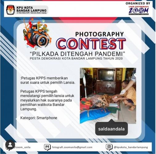 Reporter Lampost.co Sabet Juara Dua Photography Contest KPU