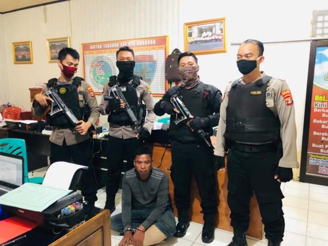 Residivis Curas Bawa Sabu di Lampura Dibekuk Polisi