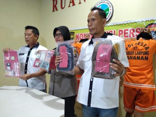 Residivis Narkoba Kembali Tertangkap