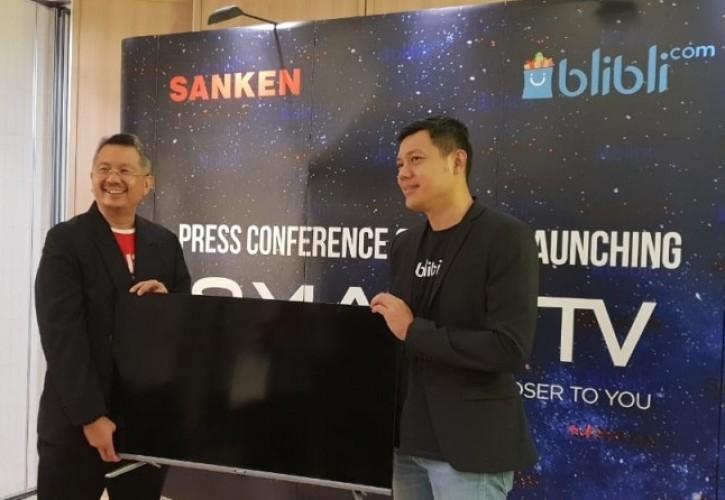 Resmi Diluncurkan di Indonesia, Sanken Smart TV Dijual di <i>Bibli.com</i>
