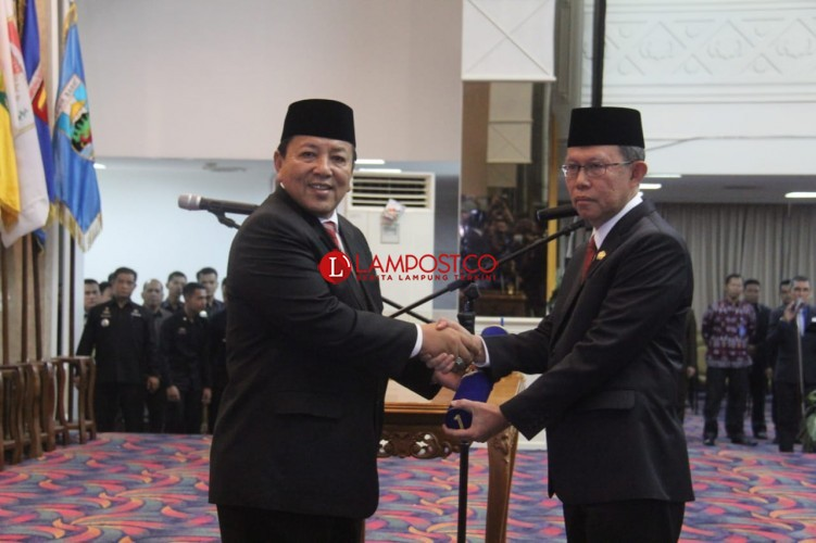 Resmi Jadi Sekda, Fahrizal Darminto Siap Bersinergi