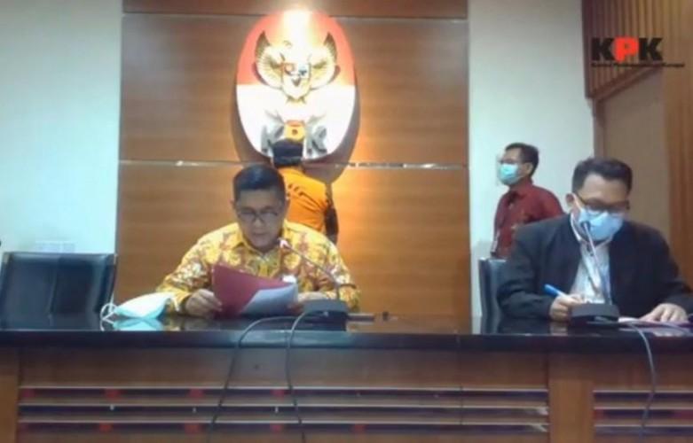 KPK Resmi Jadikan Hermansyah Hamidi Tersangka