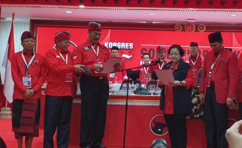 Resmi, Megawati Kembali Pimpin PDIP