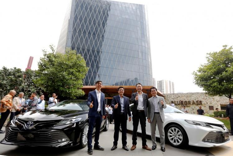Resmi Mengaspal, Toyota All New Camry Usung Platform Baru