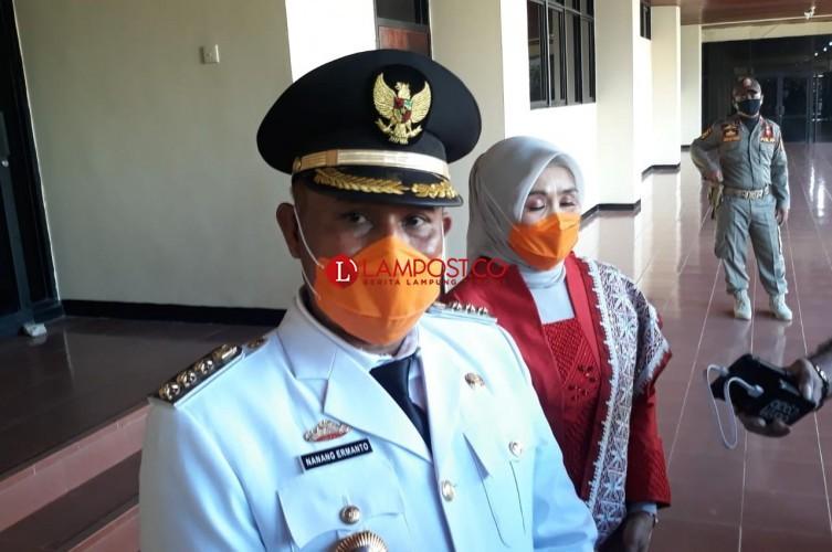 Resmi, Nanang Ermanto Bupati Lampung Selatan