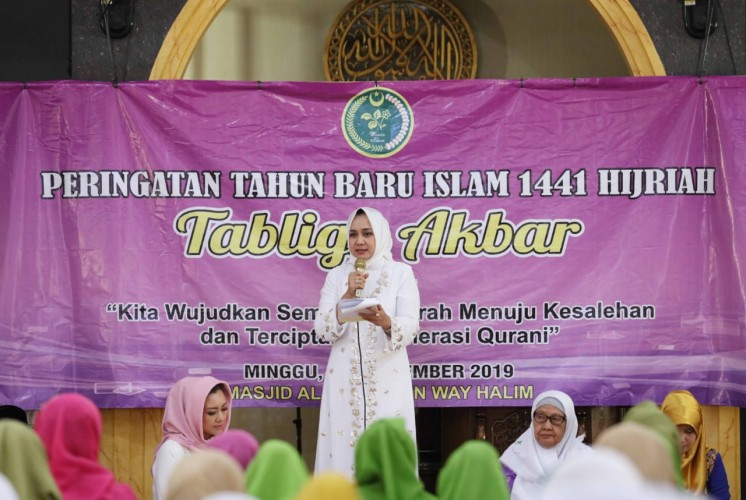 Riana Sari Ajak PWWI Berperan Aktif dalamPembangunan