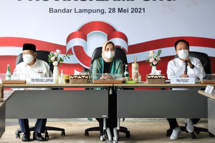 Riana Sari Arinal Terpilih Aklamasi Jadi Ketua PMI Lampung