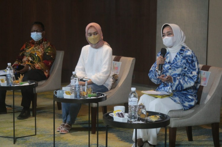 Riana Sari Dorong Semua Pihak Lindungi Anak Yatim Piatu Akibat Covid-19