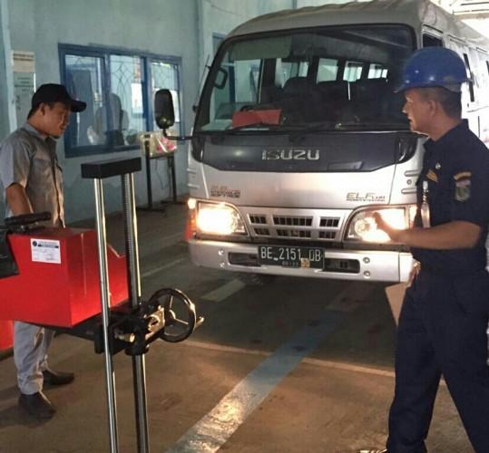 Ribuan Kendaraan se-Lampung Uji KIR di Lampung Tengah