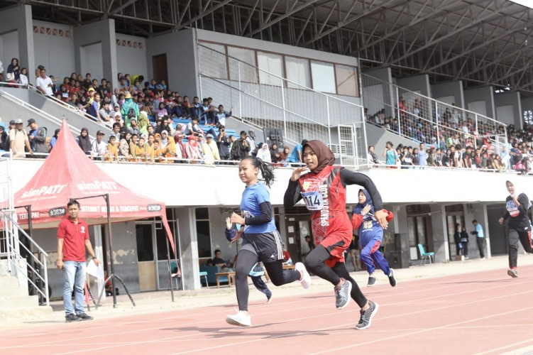 Ribuan Pelajar di Bandar Lampung Ikuti Kejuaraan Atletik 2019