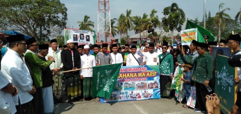 Ribuan Santri Meriahkan Peringatan HSN di Pringsewu