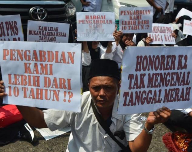 Seribuan Tenaga Honorer di Tulangbawang Terancam Diberhentikan