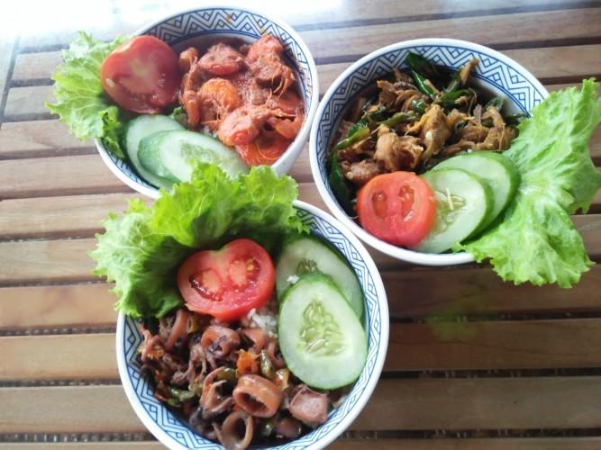 Rice Bowl ala Dapur Sehat, Tak Hanya Enak Tapi Juga Sehat