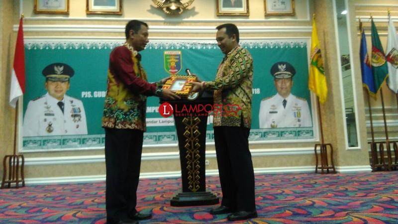 Ridho Sebut Didik Catatkan Sejarah di Lampung
