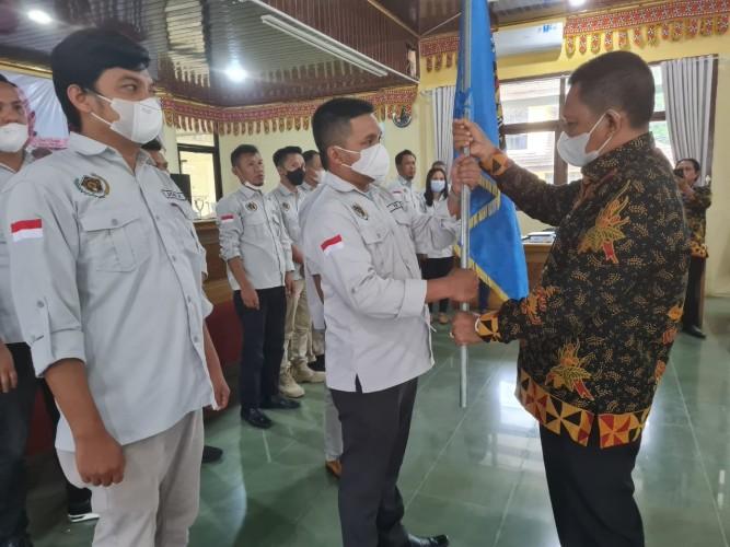 Rifai Arif Pimpin PWI Lampung Barat Periode 2021-2024