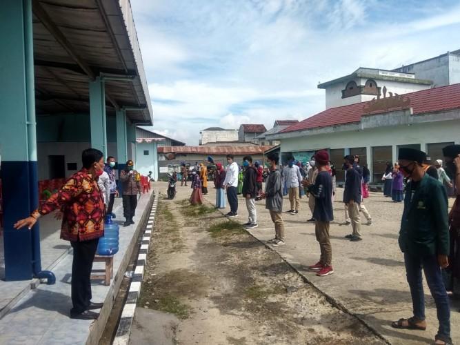 Rombongan Santri dari Jawa Timur Tiba Pringsewu