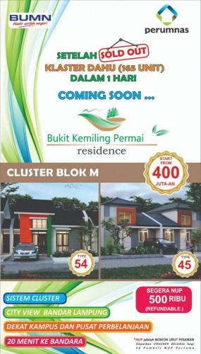 Rp500 Ribu Pilih Unit BKP Residence