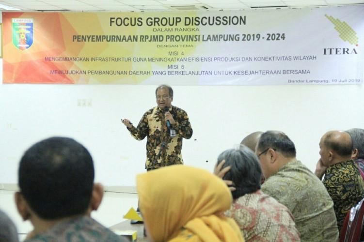 RPJM Lampung TekankanPengembangan Infrastruktur