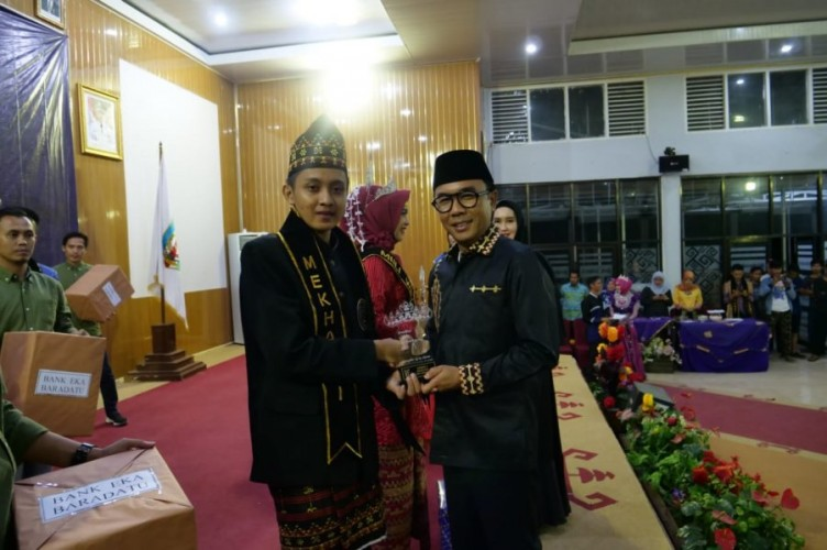 Rudiyanto dan Indri Nur Hasanah Juarai Muli-Mekhanai Way Kanan  2019
