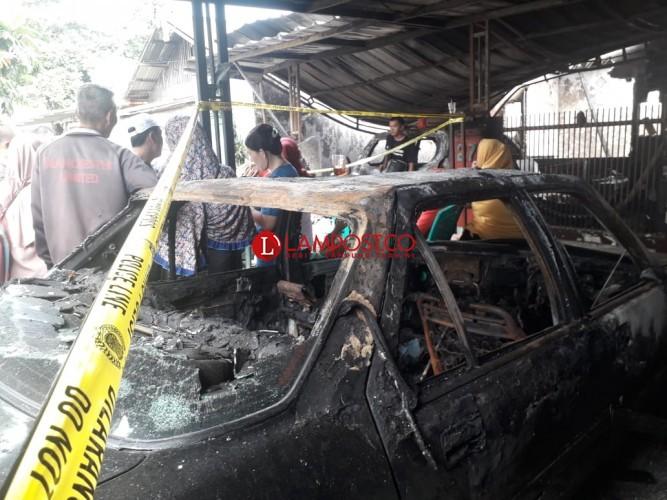 Rumah dan Kendaraan di Sukaraja Ludes terbakar