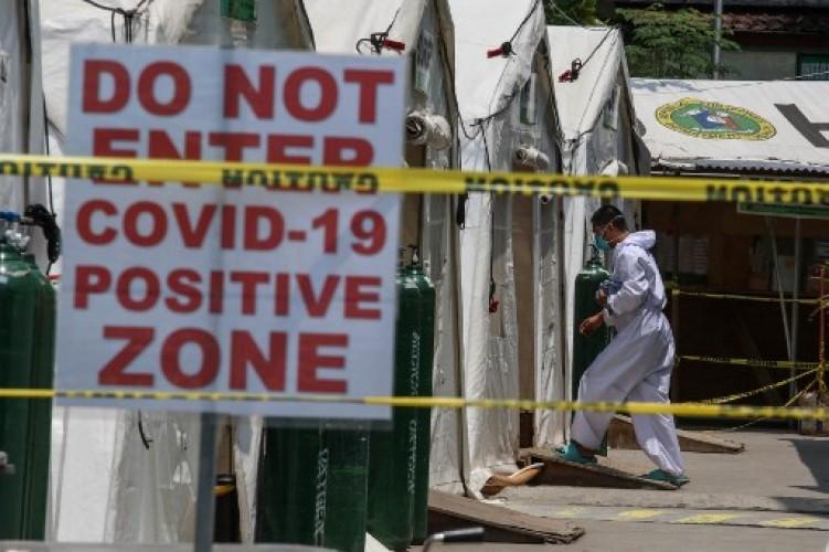 Rumah Sakit di Filipina Kewalahan Tangani Lonjakan Kasus Covid-19