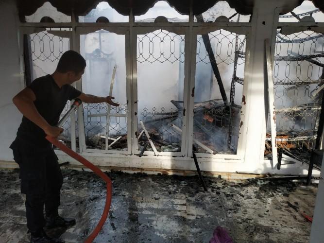 Rumah Warga Sukoharjo Habis Dilahap Si Jago Merah