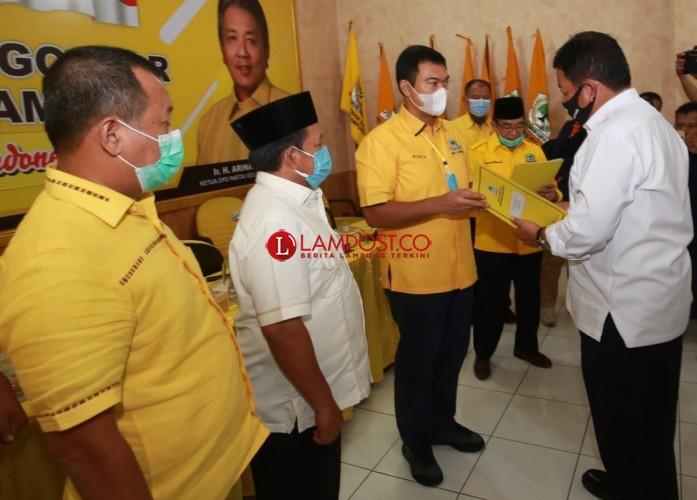 Rycko-Johan Siap Bertarung di Pilkada Bandar Lampung