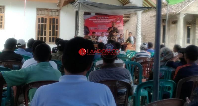 Sahlan Syukur Turun ke Dapil Serap Aspirasi Masyarakat