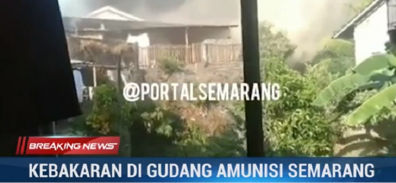 Saksi Mata Sebut Ledakan Berkali-kali di Mako Brimob