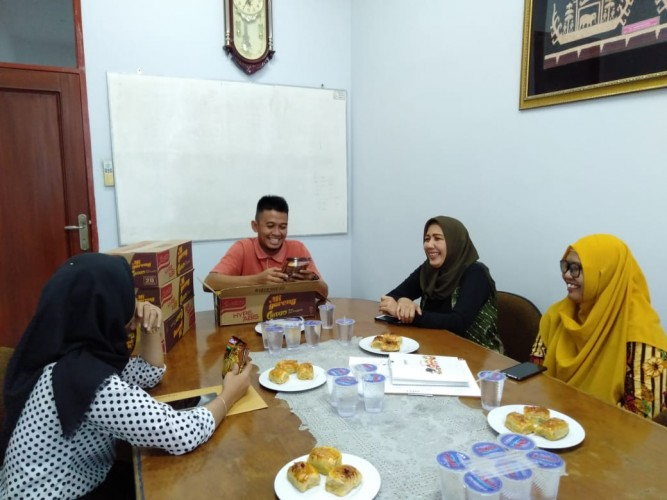 Sambangi Lampung Post, Indofood Kenalkan Varian Baru Indomie Rasa Chitato