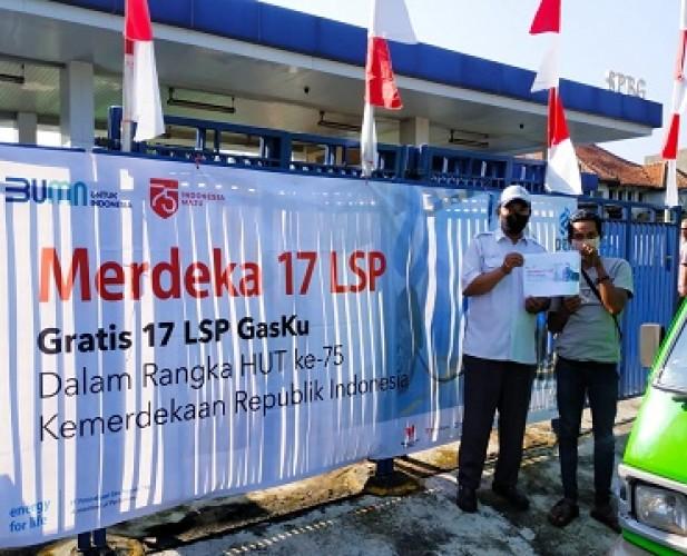 Sambut HUT Ke-75 RI, PGN Gelar Promo Merdeka 17 LSP Program Gratis Isi GasKu