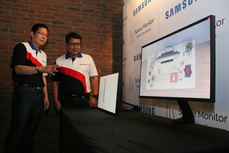 Samsung Kenalkan Monitor Fungsional, The Space Monitor
