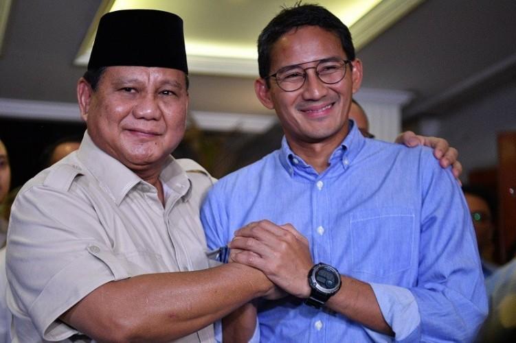 Sandiaga Kembali ke Pelukan Prabowo