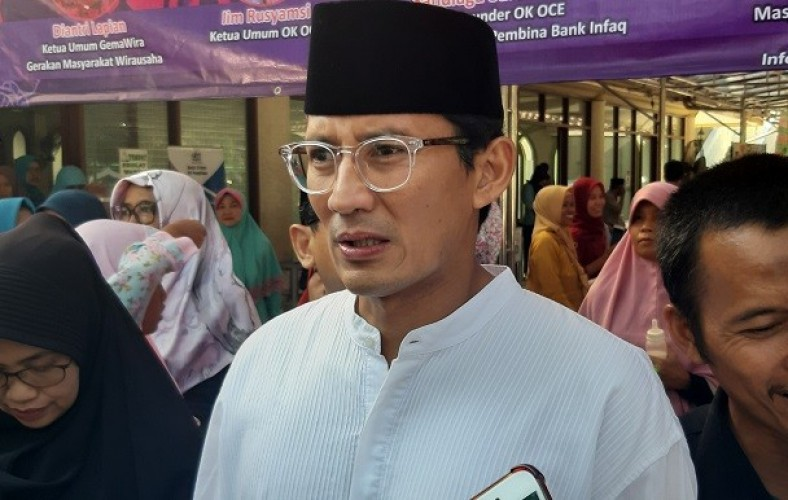 Sandiaga Uno Banjir Cacian Usai Jadi Menteri Jokowi